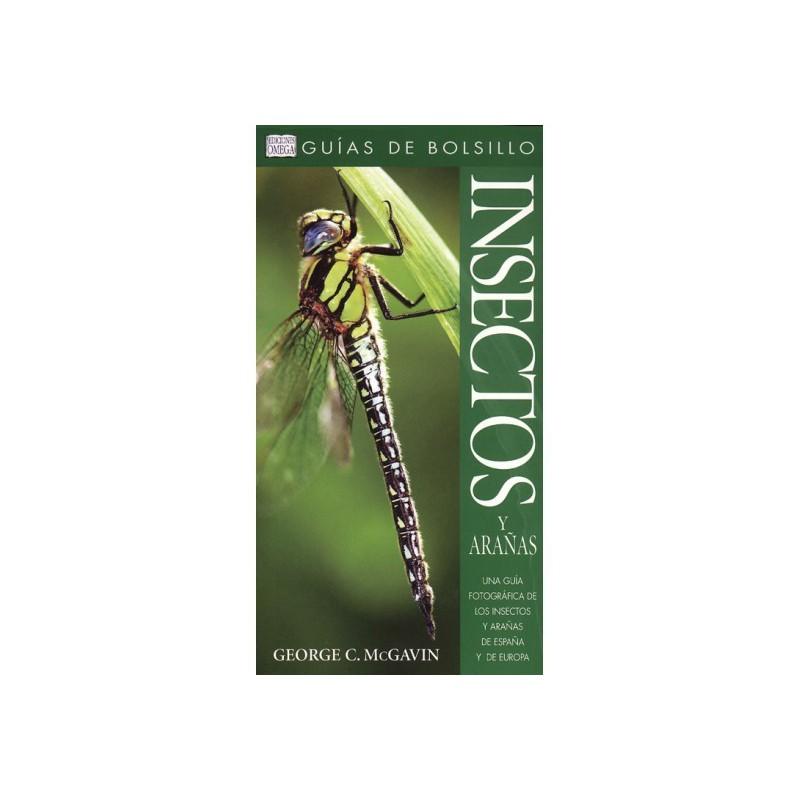 Insectos y arañas guía de bolsillo