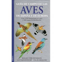 GUIA DE CAMPO AVES DE ESPAÑA Y EUROPA