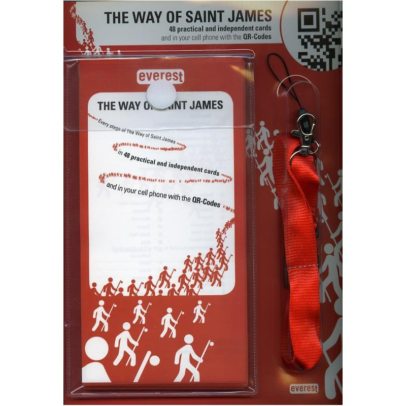 The Way of Saint James. 48 practical and independent cards