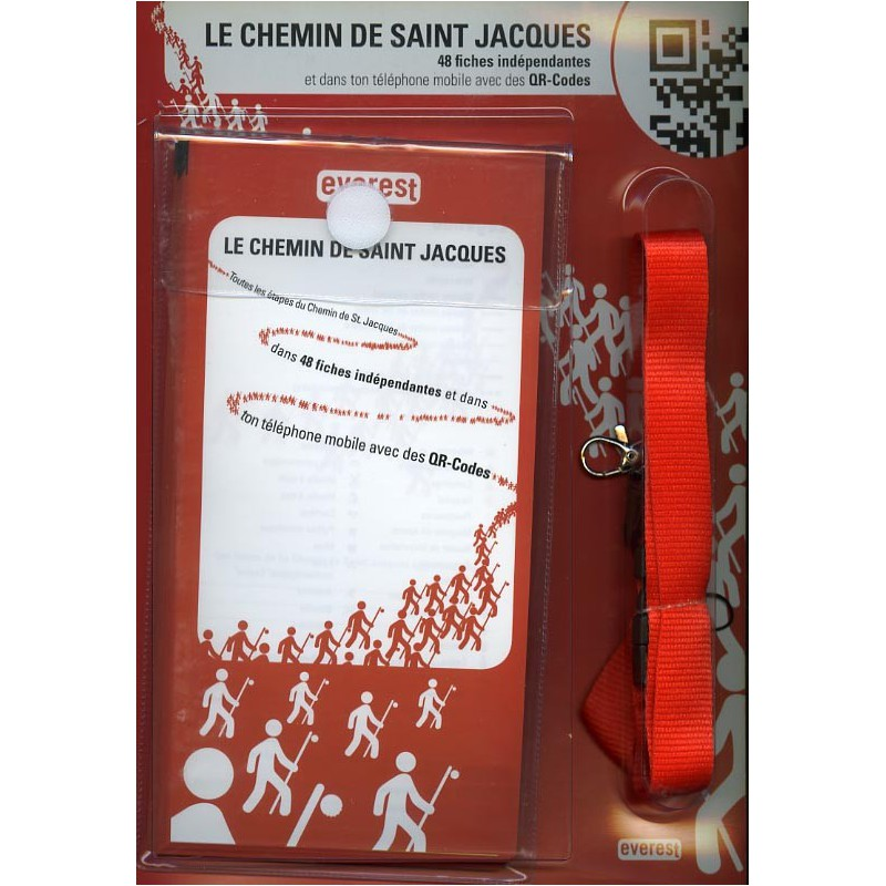 Le Chemin de Saint Jacques. 48 fiches indépendantes