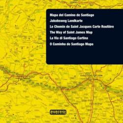 Mapa Camino de Santiago LowCost