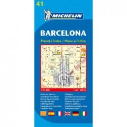 Plano callejero de Barcelona