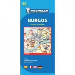 Plano callejero de Burgos