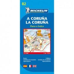 Plano callejero A Coruña/ La Coruña