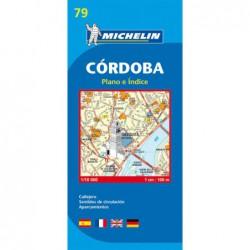 Plano callejero de Córdoba