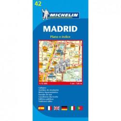 Plano callejero de Madrid