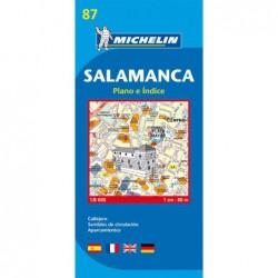 Plano callejero de Salamanca