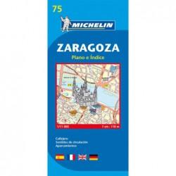 Plano callejero de Zaragoza