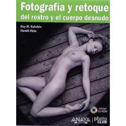 Fotografía y retoque del rostro y el cuerpo desnudo