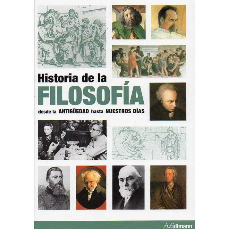 Historia de la filosofía desde la antigüedad hasta nuestros días