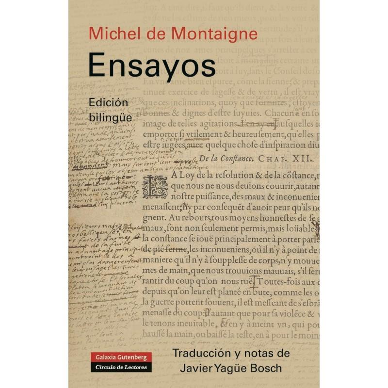 Ensayos  Michel de Montaigne
