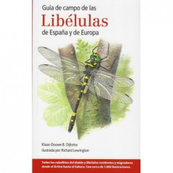 guía de campo de las libélulas de España y Europa
