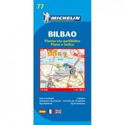 Plano callejero de Bilbao