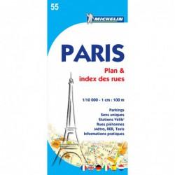 Plano callejero de París