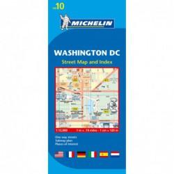 Plano callejero de Washington