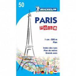 Plano callejero de París formato bolsillo