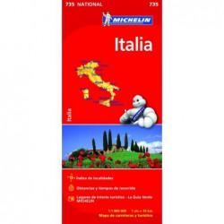 Mapa de carreteras de Italia